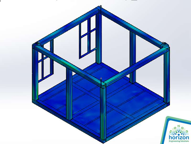 Lifting frame-model