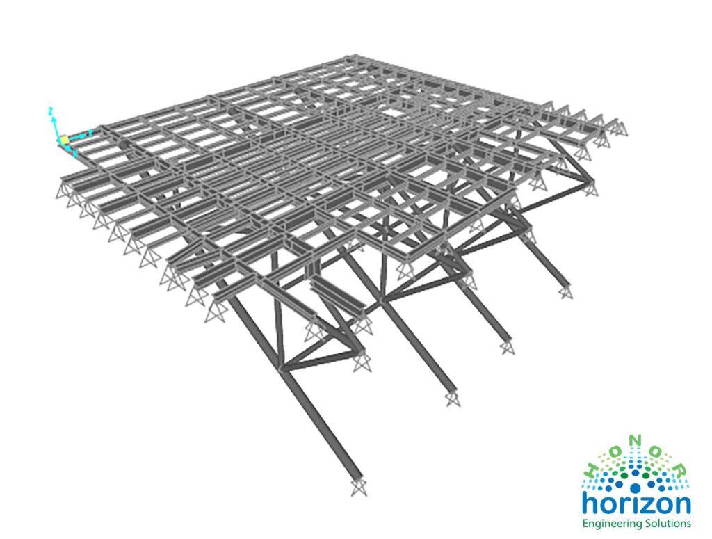 pipe deck-model